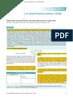 Artículo Base 1 - Estado de salud oral de los trabajadores de fábricas de cemento, Sirohi, Rajasthan, India.pdf