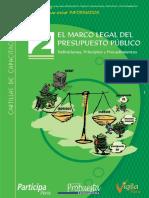Cartilla Marco Legal Presupuesto