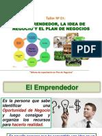 1. Emprendedor,Idea y Plan de Negocios