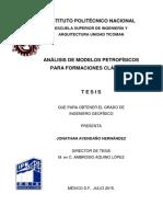 Análisis de modelos petrofísicos para formaciones clásticas.pdf
