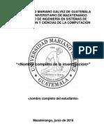 Formato Proyecto de Graduación I Corregido