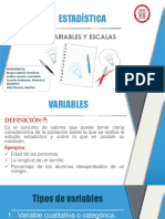 1- Variables y Escalas