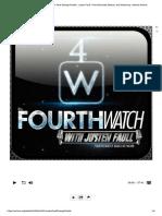 4th Watch With Justen Faull Strange Por..