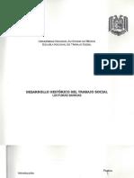 Aida Valero Chavez- Desarrollo Historico de Trabajo Social, Unam,Sua, 2003