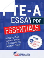 PTE Writing Essay