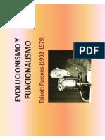 Parsons Evolucionismo y funcionalismo