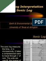 Sonic Log