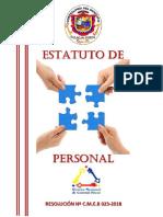 Estatuto de Personal CMEB