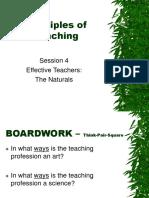 Effective Teachers - Naturals.ppt