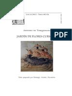 El Jardin de Flores Curiosas- Antonio de Torquemada