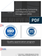 Loyal Building Contracting and Integrated Facilities Management Profile