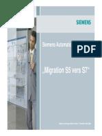 Migration S5 S7