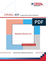 CRISIL Research Ier Report Nandan Denim Ltd 2014