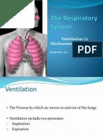 L12. Ventilation Mechanism of Breathing