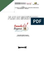 Plan Anual de Monitoreo Escuela Segura Prevaed 2017