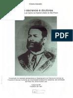 Entre escravos e doutores a trajetória de Luiz Gama