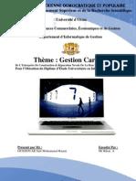 Memoire Ramzi Juin 2007 Systeme d'Information Gestion de Carrière