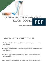 Determinantes Do Processo Saúde e Doença