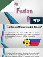 Pinoy Fusion Doughnut