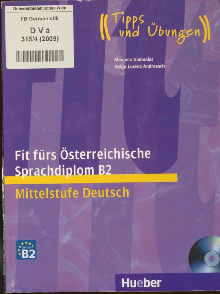 fit fürs österreichische sprachdiplom b2 mittelstufe