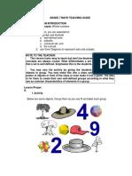 Math Grade 7 Teacher's Guide