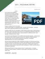 Mlfree.com-Audi a3 2003 2013 Polovnjak Motor Kvarovi