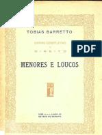 Tobias Barreto - Menores e Loucos 1