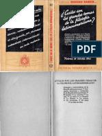 Caturla Brú, Victoria de - Cuáles Son Los Grandes Temas de La Filosofía Latinoamericana