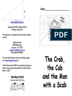 The Crab, The Cab and the Man With a Scab