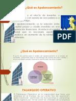 Palanqueo Operativo Financiero Palanqueo Total Exposicion