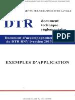 DTR C 2-47-2013 Document d Accompagnement Exemples d Application