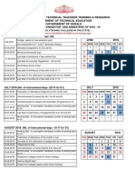Academic Calendar Diploma