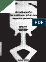 Alpha I. Sow y otros - Introducción a la Cultura Africana. Aspectos generales.pdf