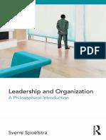 Spoelstra2018leadershipandorganization Intro
