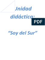Unidad Didáctica Soy Del Sur