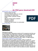 Mod de Mando PSX Para Amstrad CPC