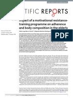 Motivação Para Idosos - Impact of a Motivational Resistancetraining