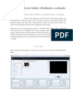 Windows Movie Maker_ Tutoriais