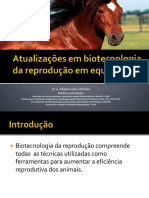 PECNORDESTE Biotecnicas Da Reproducao de Equinos