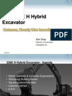 Cat 336eh Hybrid Excavator
