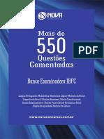 Apostila 550 Questões IBFC