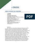 Stefan Zweig - Orele Astrale Ale Omenirii 1.0 10 %