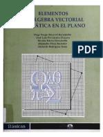 Elementos de Algebra Vectorial