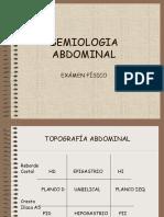 Semiologia Del Abdomen