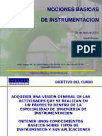 Curso Instrumentacion Internet PPT PRIMERO