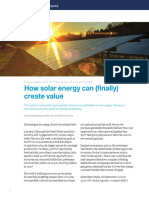 How Solar Energy Can Finally Create Value(1)