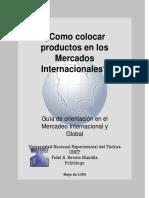 Texto. Como Colocar Productos en Mercados Internacionales-1