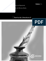 Teoria Da Literatura II Vol1