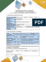 Guía de Actividades y Rúbrica de Evaluación-Fase 1-Reconocimiento Del Aula