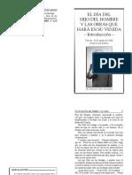 2015-08-21 El Dia Del Hijo Del Hombre y Las Obras Que Hara en Su Venida Introduccion Booklet